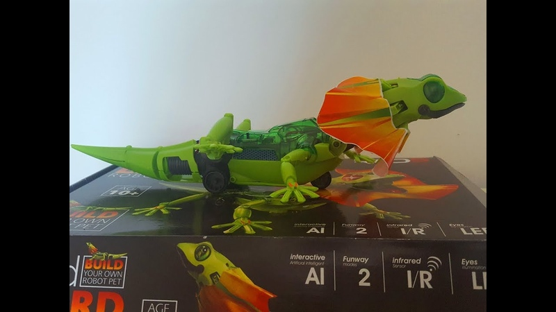 Red5 Build Your Own Robot Kit Interactive Infrared Frilled Lizard Робот Плащеносная Ящерица