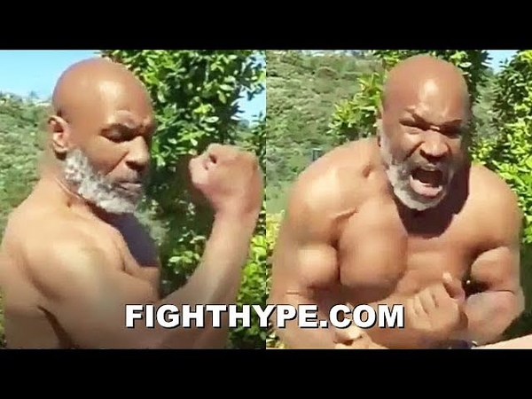 WOW MIKE TYSON FLEXES RIPPED PHYSIQUE AT 53 DISPLAYS HAND SPEED AND REPEATS I MIGHT COME BACK