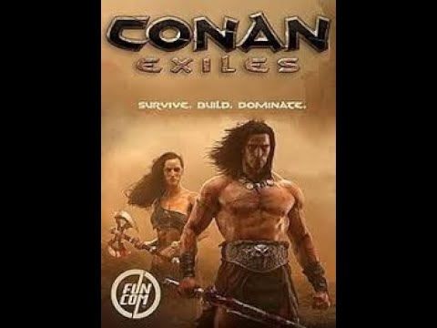 Conan Exiles evoluindo personagem e coletando materiais no morro dos mortos 2021 Vídeo 16