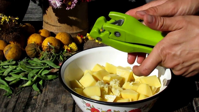Зеленое ЛОБИО Вегетарианское блюдо из фасоли