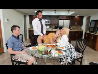 [FreeuseFantasy] Kylie Kingston, Kenna James - Step Family Dinner NewPorn2020