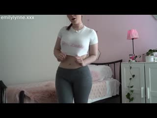 Emily Lynne - Cum for Me Twice JOI  FUCK