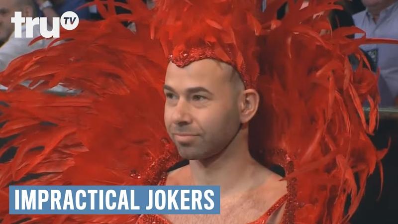 Impractical Jokers Boxing Ring Girl Disaster Punishment truTV