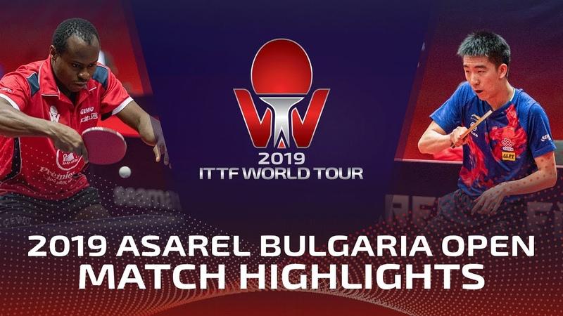 Aruna Quadri vs Ma Te   2019 ITTF Bulgaria Open Highlights (R32)