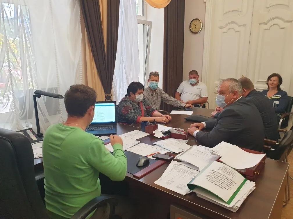 Обсуждается возможность модернизации системы водоснабжения на территории Петровского района