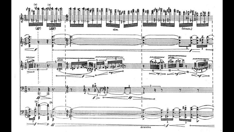 Salvatore Sciarrino Il silenzio degli oracoli 1989 for wind quintet