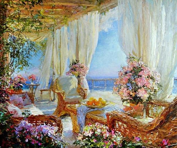 Мария Щербинина родилась в Москве в 1965 году в семье художника.