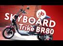 CITICOCO SKYBOARD TRIKE BR80 - настоящий грузовой электротрицикл и незаменимый помощник в хозяйстве