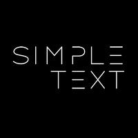 Логотип Simple text band