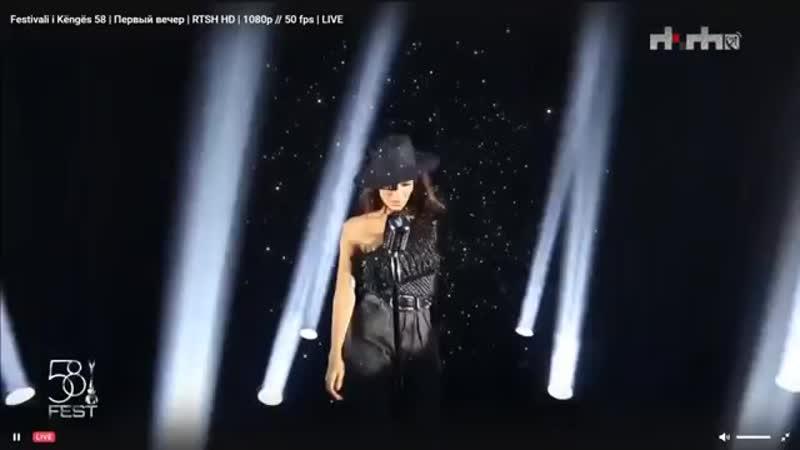 Elvana Gjata Me Tana LIVE FIK 58 Semifinal 1 1080p
