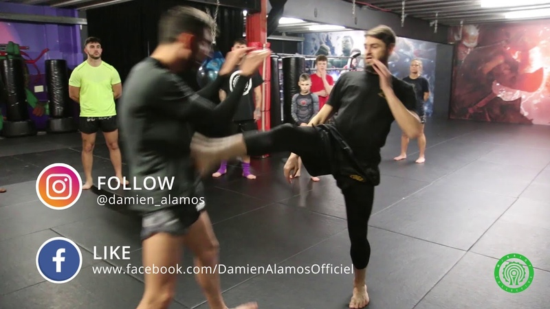 How to Teep like an Elite Muay Thai Fighter with Damien Alamos