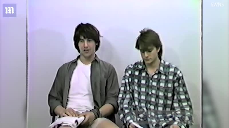 Biil and Ted audition Keanu Reeves and Matt Adler 1986