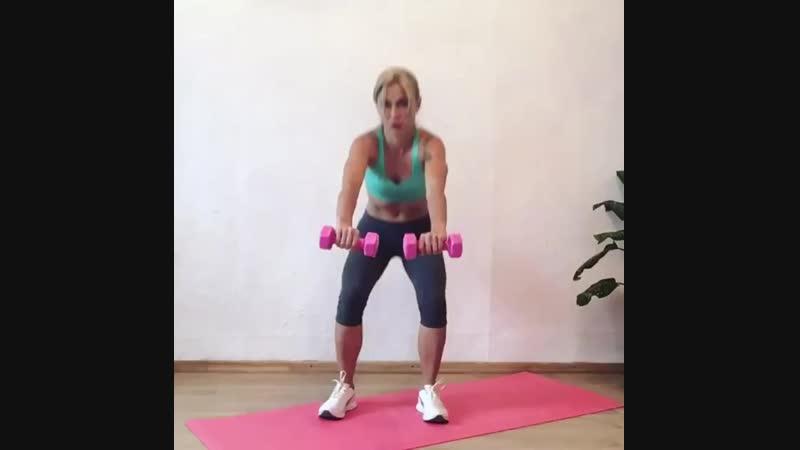 Отличная тренировка ног и ягодиц