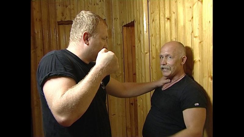 Когда прижали к стене Урок самообороны В Н Крючков Selfdefence When pressed against the wall