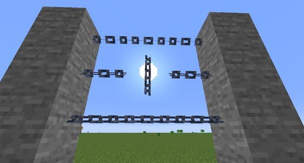 как создавать цепи в майнкрафт #3