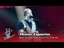 Nuno Esperto - With a little help from my friends | Prova Cega | The Voice Portugal