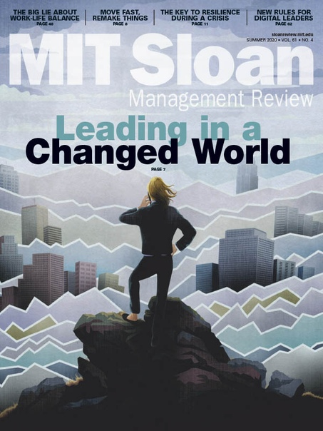 MIT Sloan Management Review Summer 2020