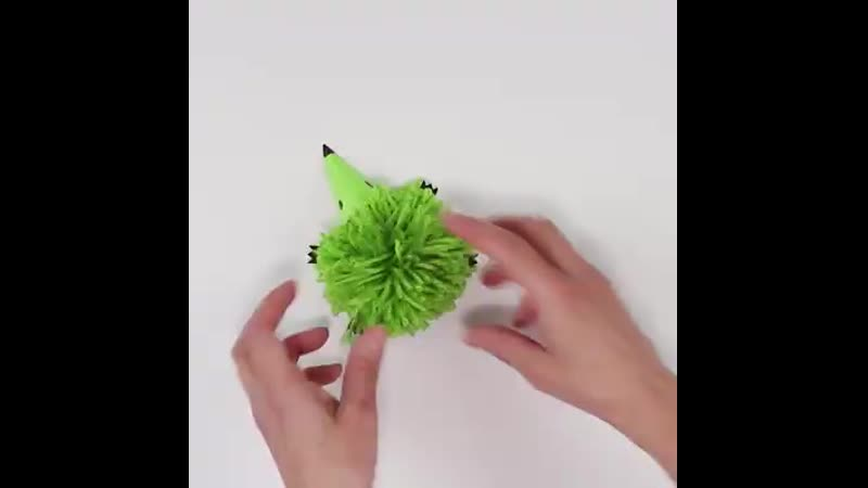 Pom Pom Hedgehog