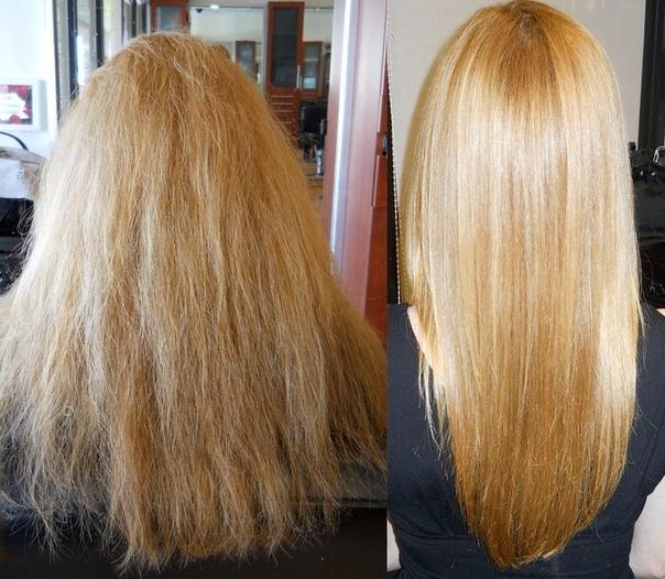 Как делать ламинирование волос (инструкция ламинирования волос): Кипятим воду, даем ей немного остыть. Высыпаем 1 ст. ложку желатина в стеклянную емкость и заливаем 3 ст. ложками НЕ ГОРЯЧЕЙ