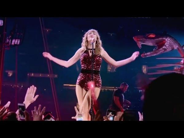 Taylor Swift Dress live at Reputation Stadium Tour
