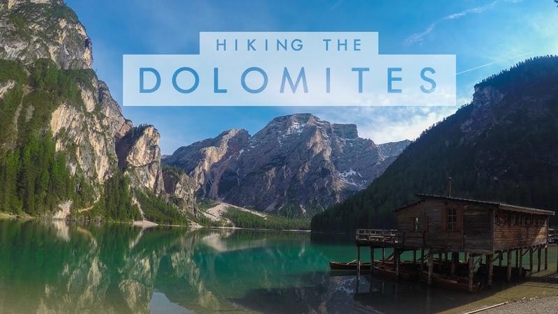 Italy Dolomites Cortina d'Ampezzo Pragser Wildsee 2017 GoPro Hero 4 Silver HD