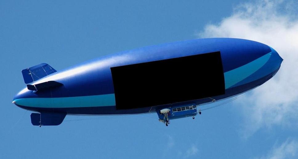 Гелий, благородный газ, используется для поддержания воздушных кораблей в воздухе.