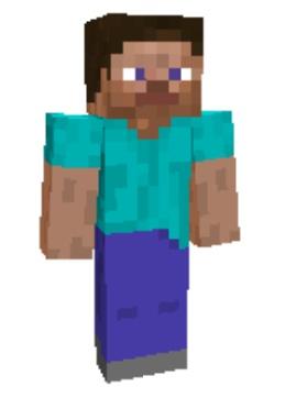 Скины как у Херобрина для Minecraft