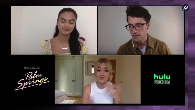 Интервью ›› июль 2020 Каст Зависнуть в Палм Спрингс в интервью в рамках промо тура проекта