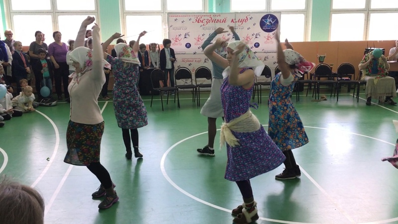 Бабки жгут Танцы в школе