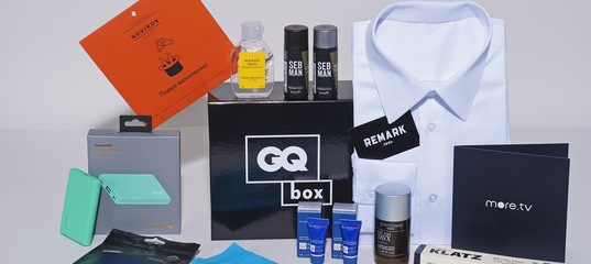 GQ BOX 2.0 –– купить в магазине Conde Nast Россия | Vogue, GQ, Glamour, Tatler, AD