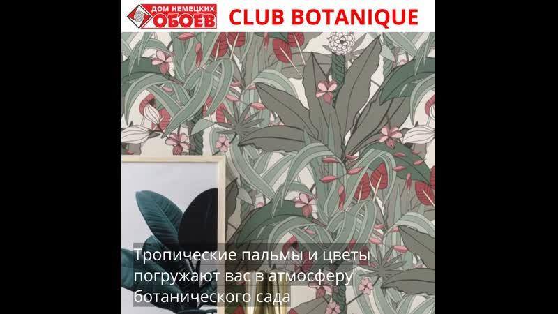 Коллекция Club Botanique от RASCH