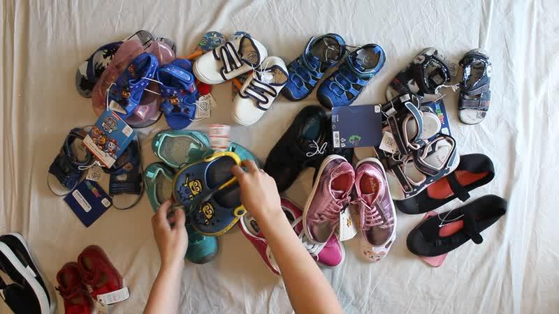 Лот 273 Детская обувь лето сток 4 8 кг продан