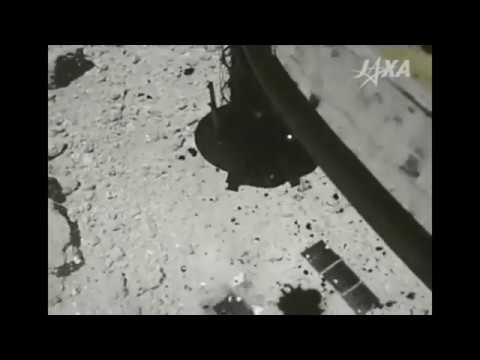 Посадка Hayabusa 2 на астероид Бенну
