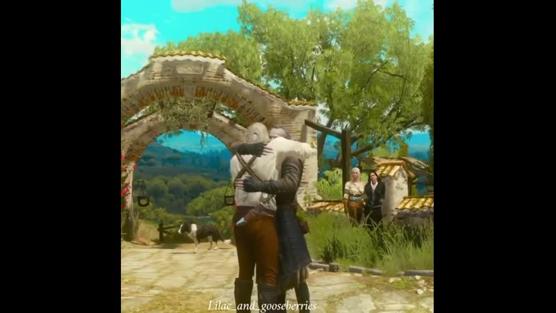 Geralt and Regis