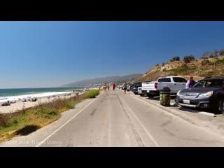 Прогулка на велосипеде по Venice Beach, Santa Monica Pacific и Palisades Лос-Анджелес Калифорния США