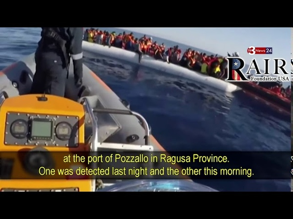 While Italy Remains on Lockdown 1000's of Corona Infected Migrants Storm the Shores of Lampedusa